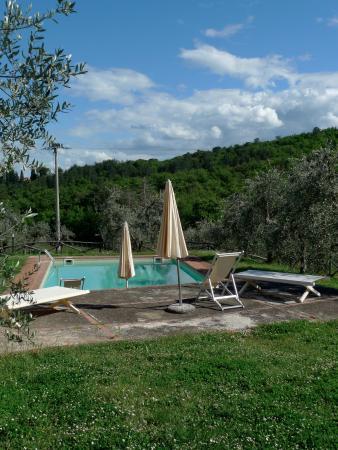 Petrolo: Pool area