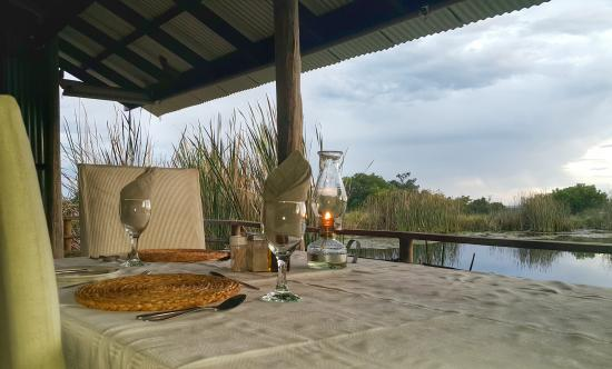 Plettenberg Bay Game Reserve, Sudáfrica: Dinner at the Boma