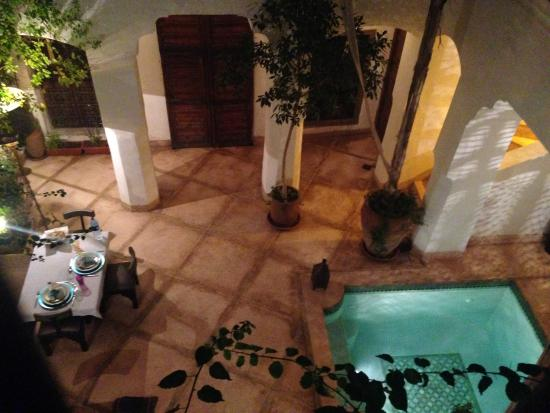 Riad el Maktoub Marrakech: patio
