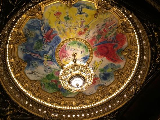 Paris, França: Le fameux plafond Chagall