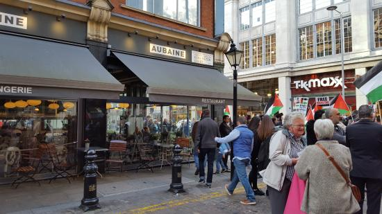 Aubaine High Street Kensington : Massive disappointment at Aubaine