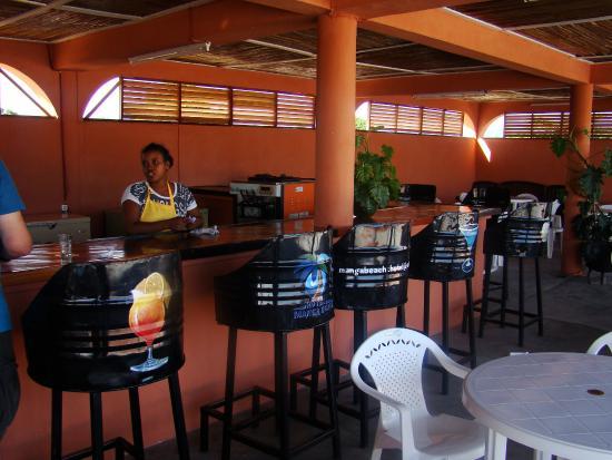 Maroantsetra, Madagaskar: Le bar de l'hotel