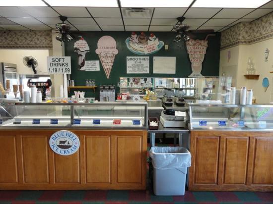 Salado, Техас: Old Fashioned Burgers & Ice Cream