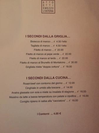 8 Etti E Mezzo - Bild von Otto Etti e Mezzo L\'Osteria, Viareggio ...
