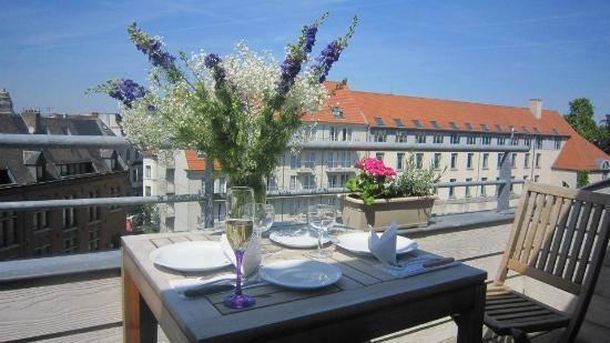 A-XL Flathotel: balcon studio 4 etafe