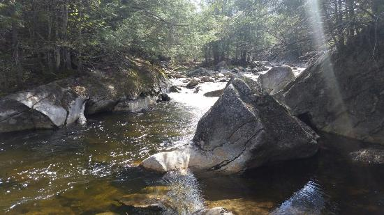 Woodstock, Nueva Hampshire: Lost River Gorge and Boulder Caves