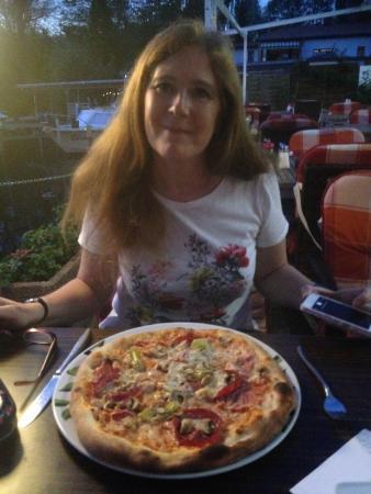 Zehdenick, Alemania: Pizza