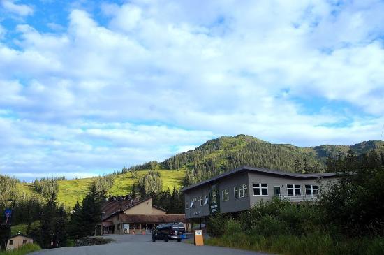 Eaglecrest Ski Area: Summer view of Eaglecrest