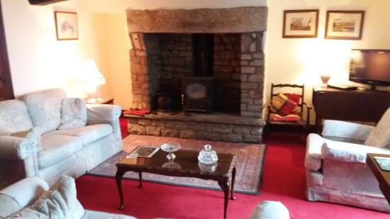 Lupton, UK: Our sitting room