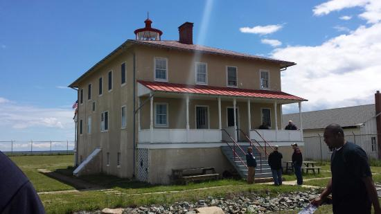 Scotland, MD: Point Lookout Lighthouse - The most Haunted Lighthouse in America