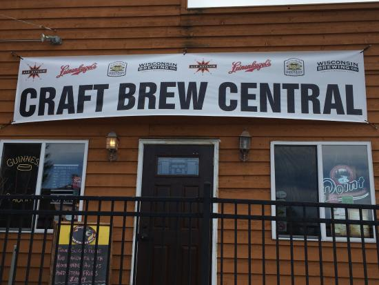 Stone Lake, WI: Up North Craft Brew Central-Wisconsin craft beers on tap