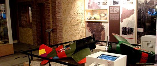 CIARGA - Centre d'Interpretació de l'Aviació Republicana i la Guerra Aèria
