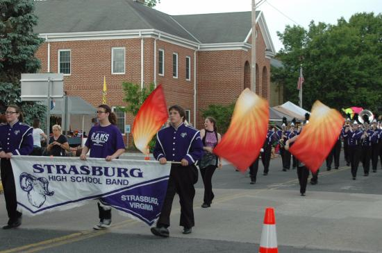 Strasburg Mayfest: Strasburg's Purple Regiment
