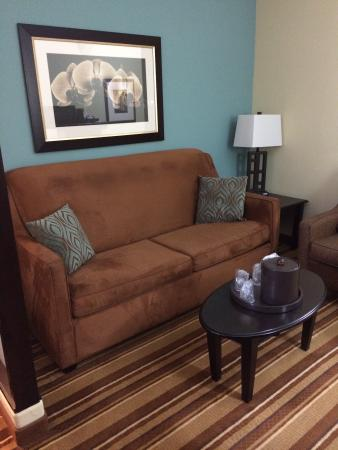 Comfort Suites Topeka: King Suite
