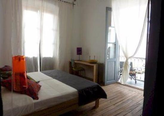 Saint-Louis, Sénégal : la chambre