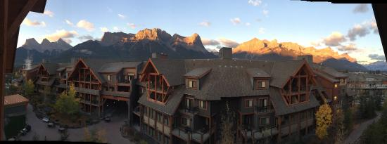 Solara Resort & Spa - Bellstar Hotels & Resorts: Third floor mountain view from Solara Resort and Spa, Canmore, AB