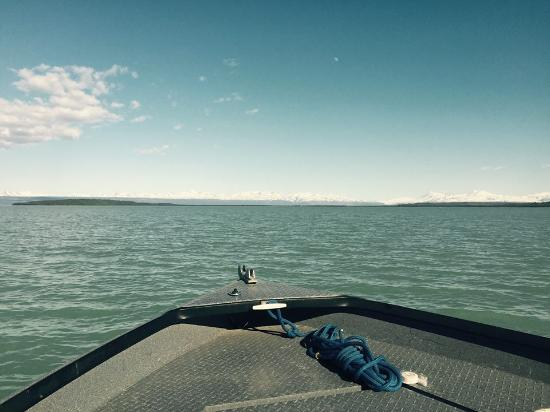 Kasilof, AK: Tustumena Lake, never ending