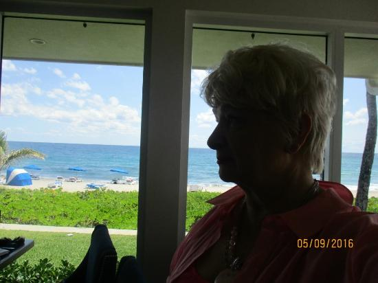 Highland Beach, FL: Ocean view