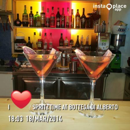 Montorgiali, Italia: Spritz Time