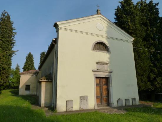 Facciata della chiesetta di S.Maria al Monte , Fogliano Redipuglia