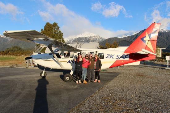 Fox Glacier, Nya Zeeland: Landed