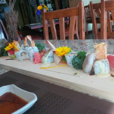 Barrie, Canadá: Sushi Platter