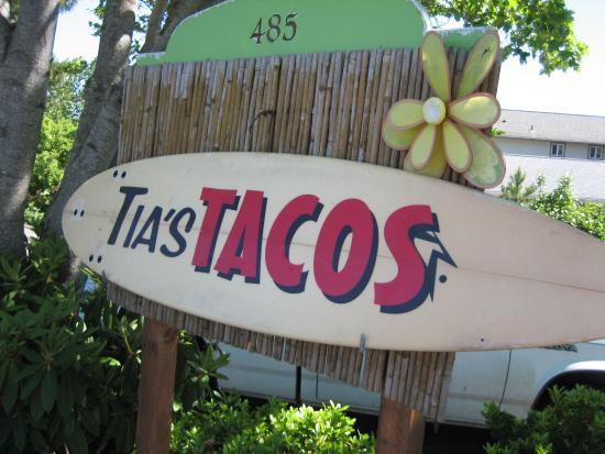Tia's Tacos : Wish I could remember what the street name was?