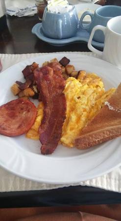 Ventnor City, Νιού Τζέρσεϊ: Breakfast in the morning