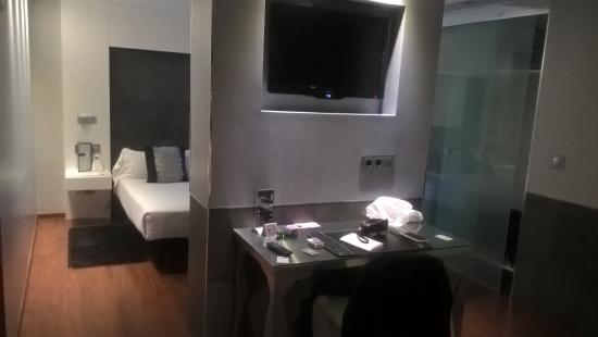 hotel regina habitacin doble superior tiene habitacin cuarto de estar escritorio