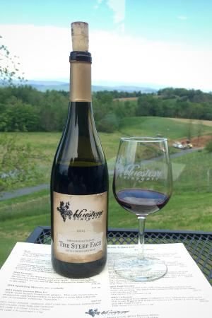 Bridgewater, VA: Bluestone's 2014 Steep Face Red Wine