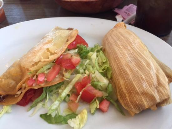 Cottonwood, AZ: Taco with Chili Relleno