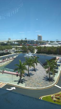 Greater Fort Lauderdale & Broward County Convention Center: View from top floor of the convention center toward the ocean