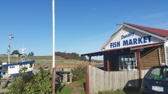 Facade of Dunalley Fish Market
