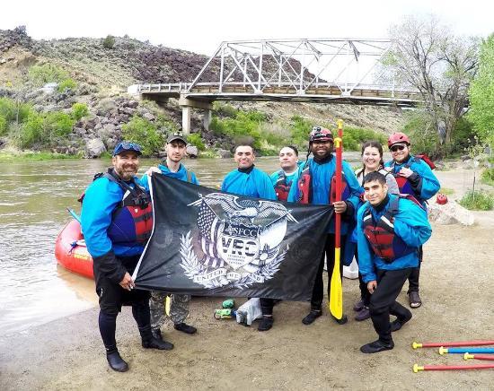 Santa Fe Rafting Company : SFCC VRC student Veterans staff