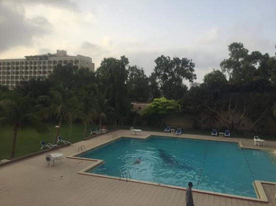 Avari Towers Karachi: View from Dining Hall