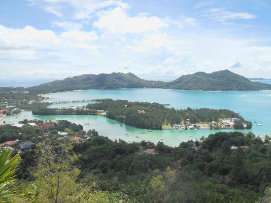 Praslin, Seychellerna: Baie Ste Anne