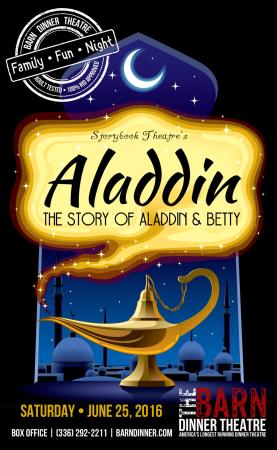 Greensboro, Carolina del Norte: Aladdin 2016