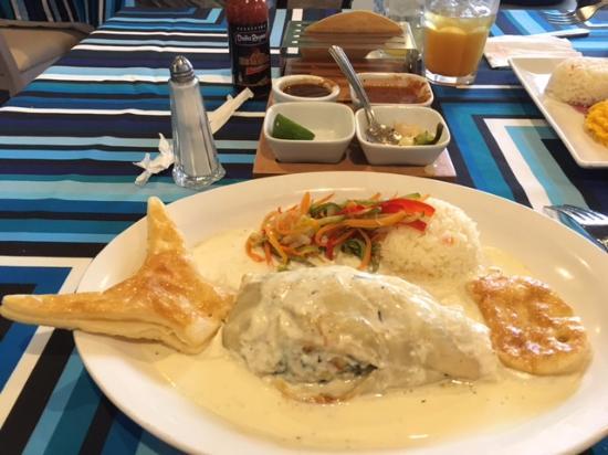 Los Arcos Restaurant: Eva's Fish fillet