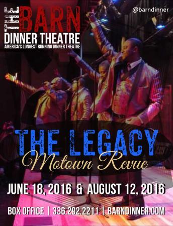 Greensboro, Carolina del Norte: The Legacy: A Motown Tribute