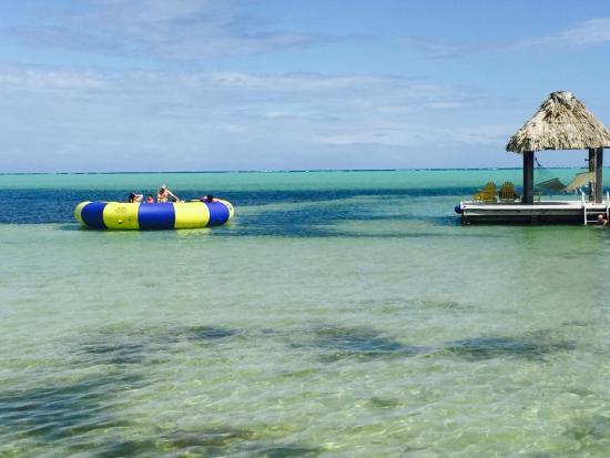 Grand Caribe Belize Resort and Condominiums: Grande Caribe Dock