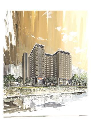 APA Hotel Hiroshima Ekimae Ohashi