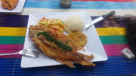 Département de Magdalena, Colombie : Almuerzo