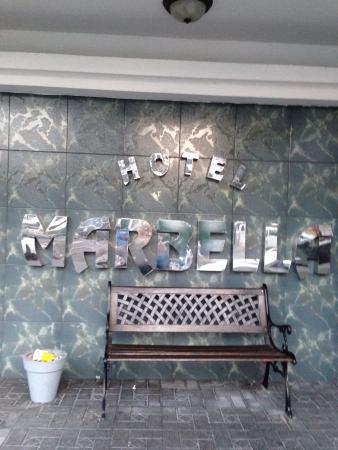 Marbella Hotel: Bonita entrada