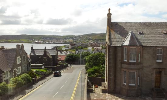 Eddlewood Guest House: View from room