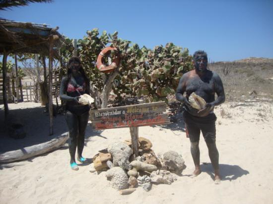 Islas costeras, Venezuela: posando