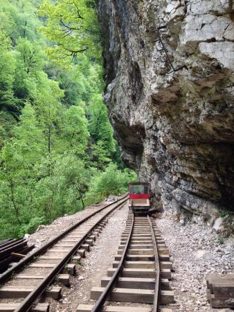 Narrow-gauge Railway in Guamka Gorge