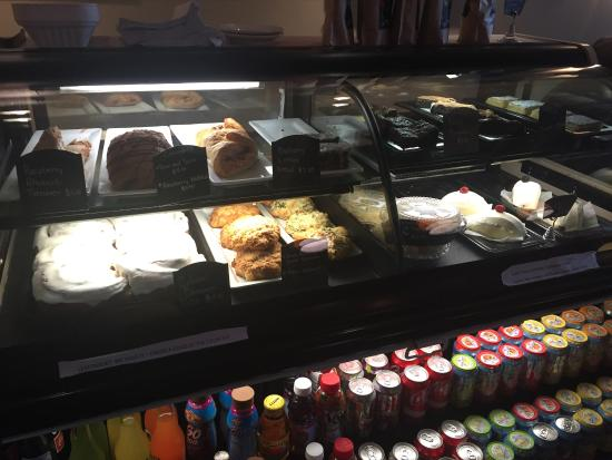 Colossal Cafe: Great baked items displayed here