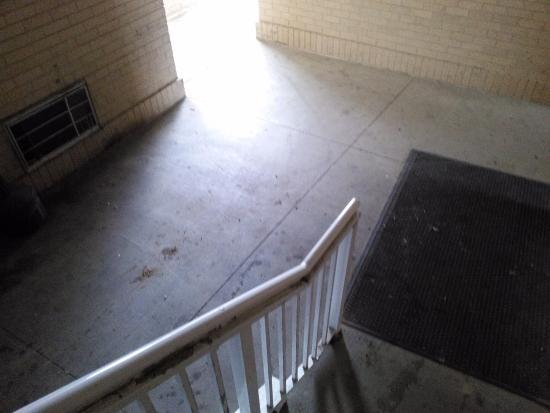 Crossland Economy Studios - Detroit - Livonia: Hallways need a good cleaning.