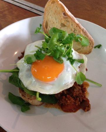The Caf Coolum: Retro Mince to warm up your Morning