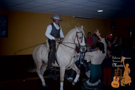 Yunquera, España: BAILE ECUESTRE